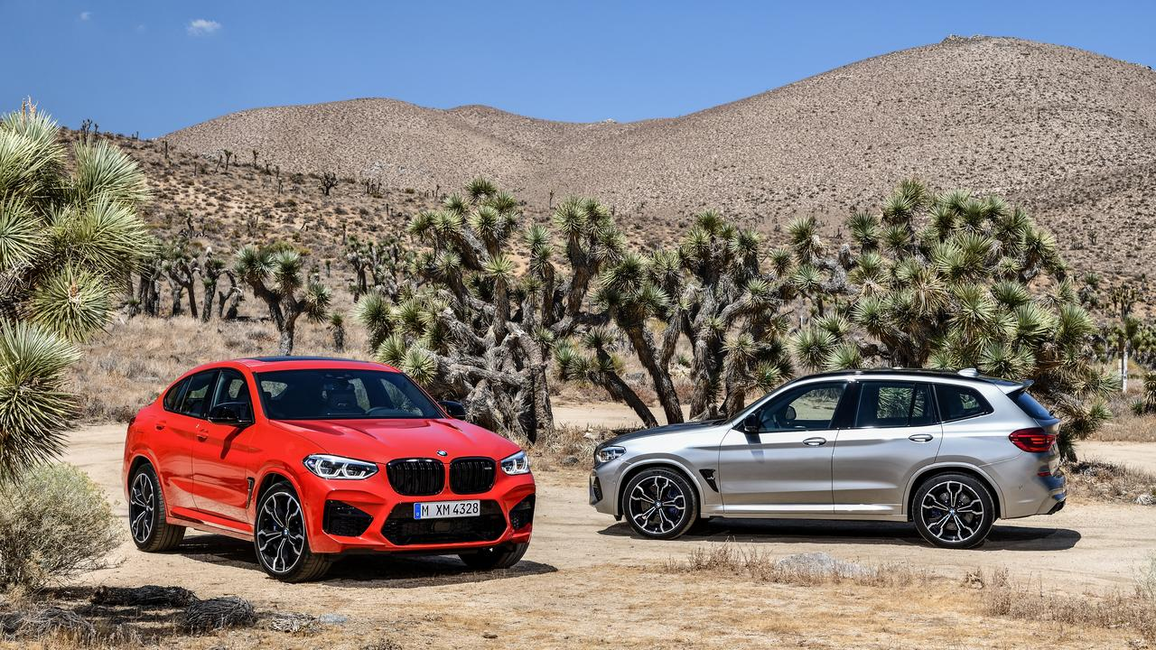 The potent BMW twins - X4 M and X3 M Competition.