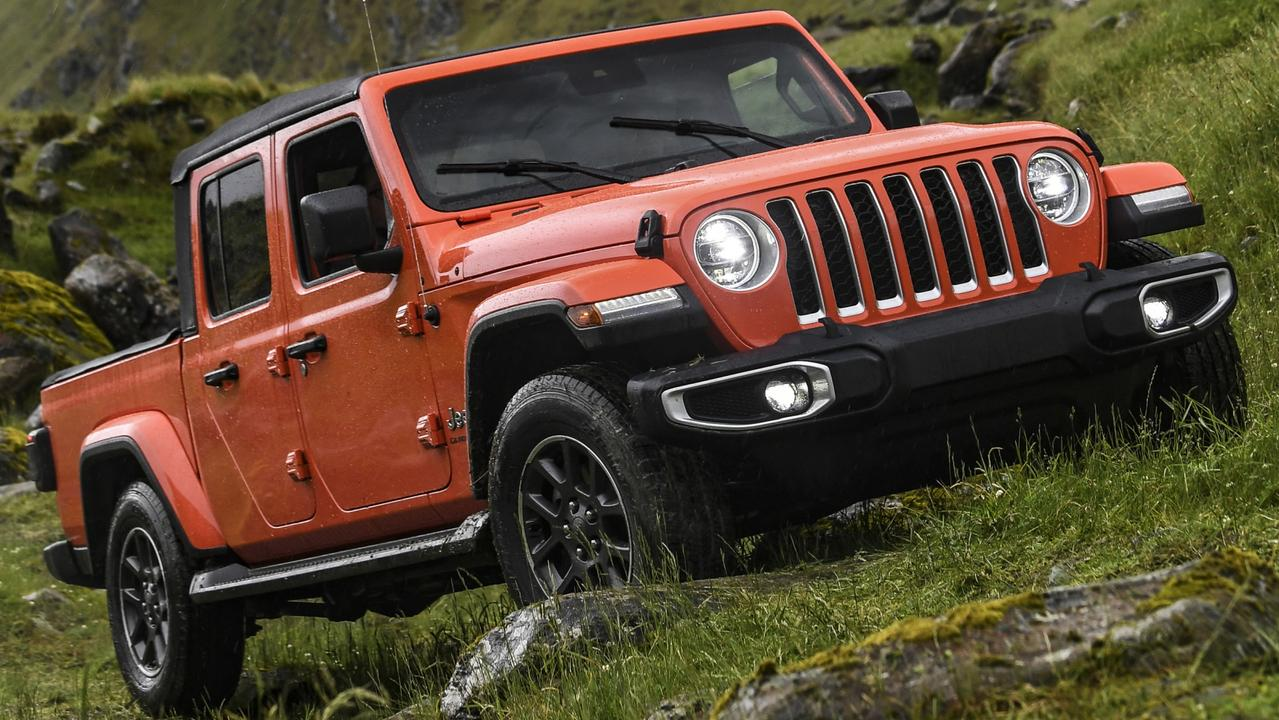 Photo of the 2020 Jeep Gladiator in New Zealand (overseas model shown)