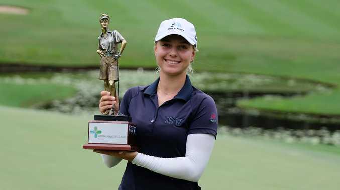 Amateur teen Stephanie Kyriacou a pro at winning