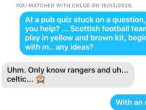 Guy's elaborate pick-up line goes viral
