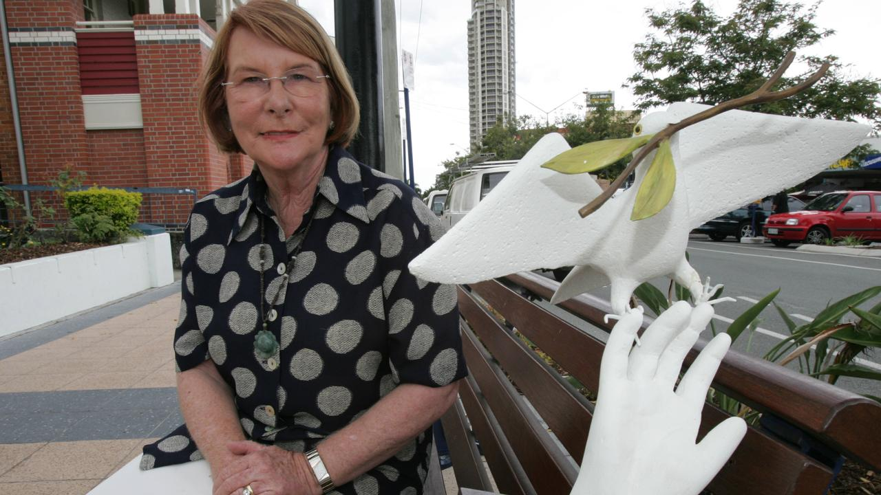 Doves area symbol of peace but Councillor Dawn Crichlow has long been at war with ibis. Picture: Kate Czerny