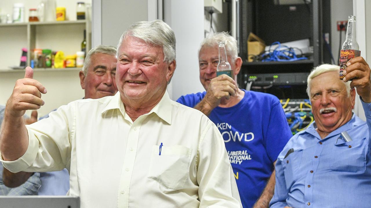Federal member for Flynn Ken O'Dowd.