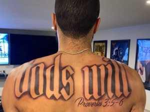 Fans roast NBA star's big tattoo blunder