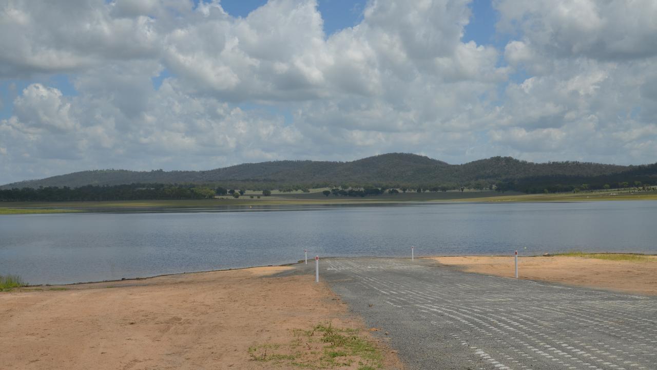 New Leslie Dam boat ramp