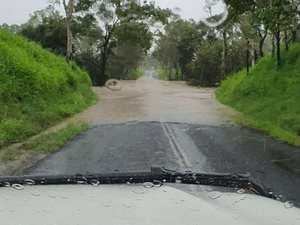 Region drenched as deluge of more than 200mm falls
