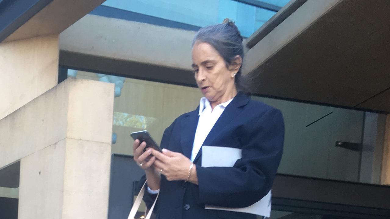 GUILTY: Debbie Bodero at Ipswich court, Feb 18, 2020.