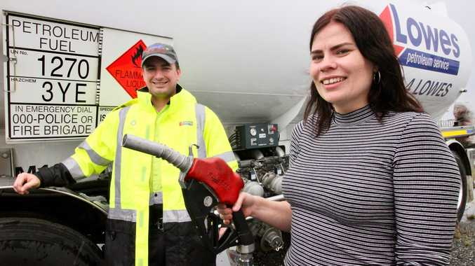 Toowoomba fuel stop donating funds for wounded wildlife