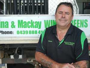 Sarina father opens town's only windscreen repair business