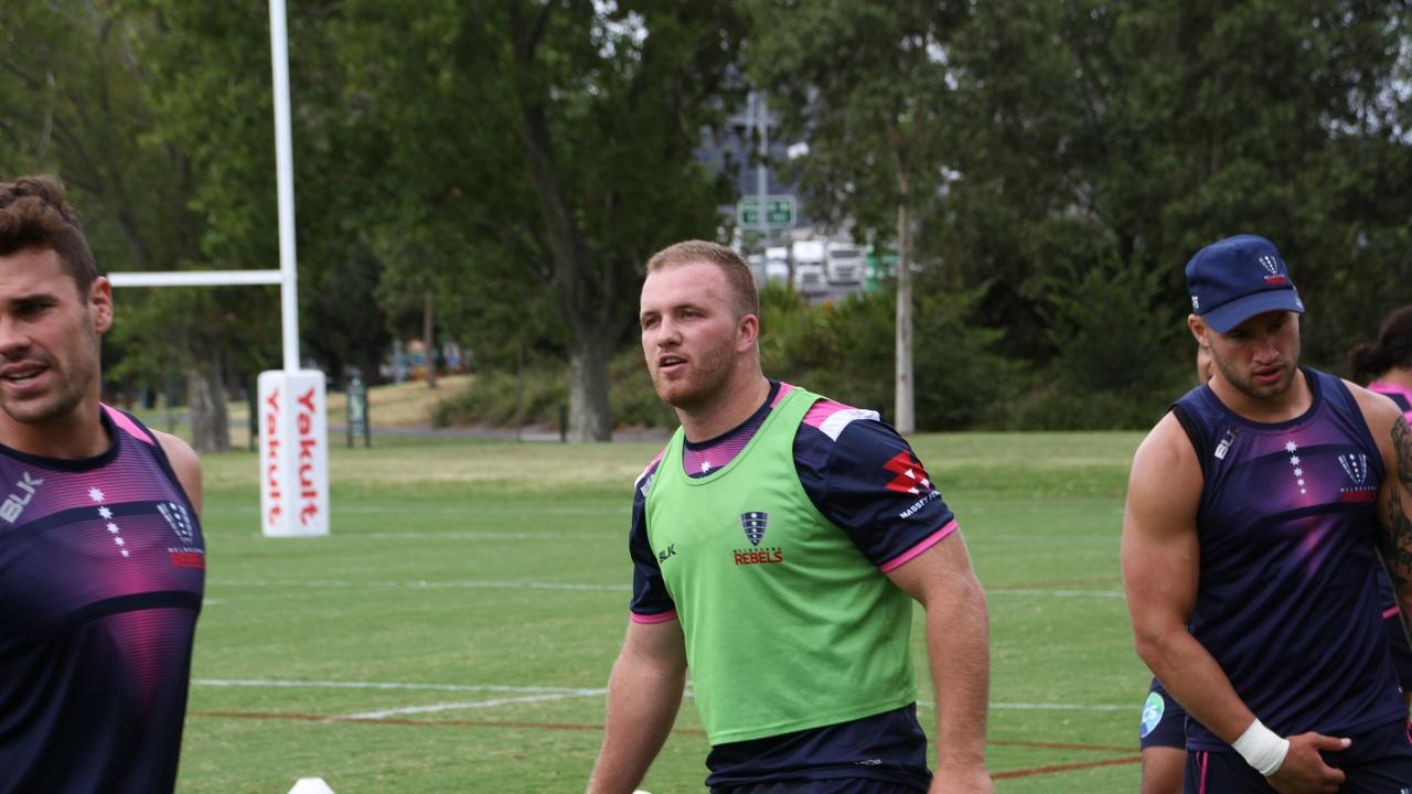 NEW DEAL: Wollongbar-Alstonville producy Matt Gibbon has signed a new Super Rugby deal which will keep him at the Melbourne Rebels for another two seasons. Photo Gerard McLenaghan