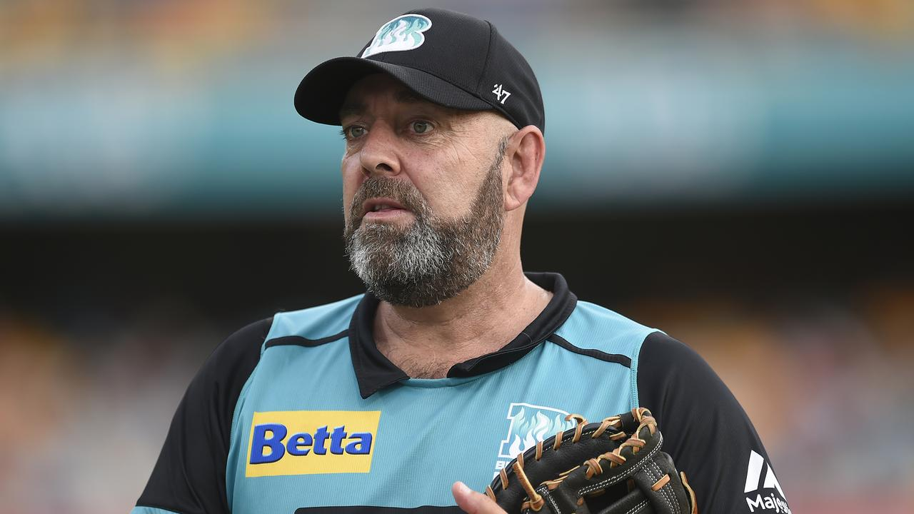 Lehmann coaches the Brisbane Heat in the Big Bash League. Picture: Getty Images