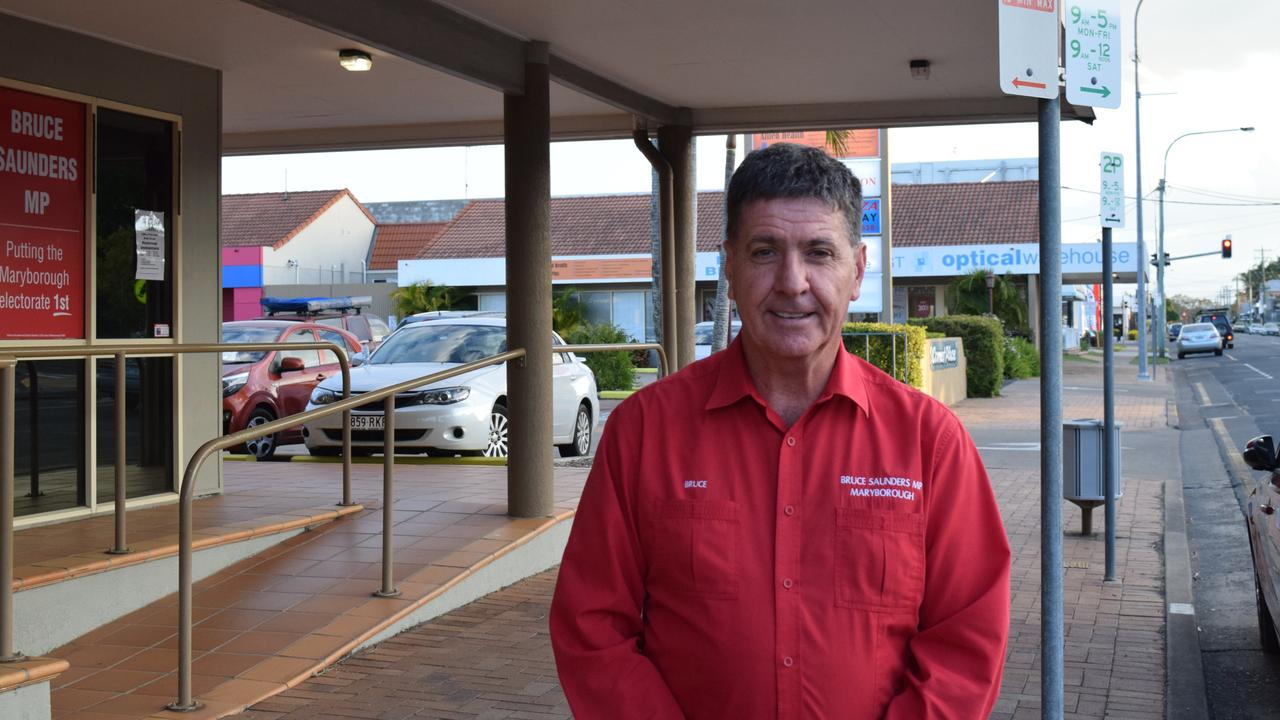 Maryborough state member Bruce Saunders will be the chair for the forum.