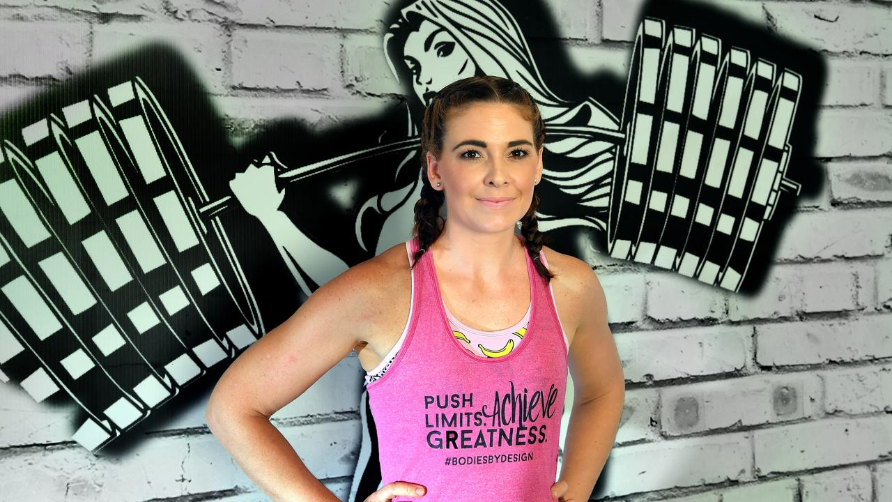MOVING FORWARD: Tessa Lewis overcame postnatal depression by immersing herself in exercise at Bodies By Design in Kuluin. Photo: John McCutcheon / Sunshine Coast Daily