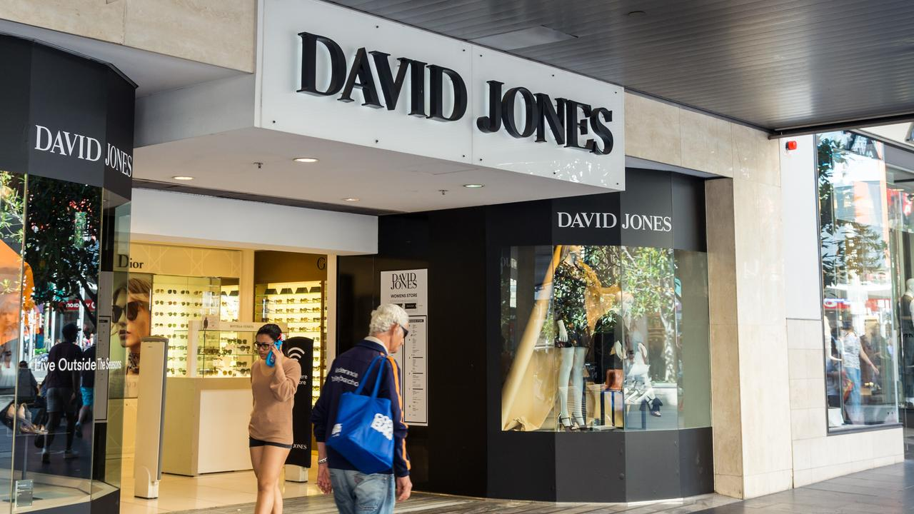David Jones will reportedly turn its attention to top performing stores and away from smaller, suburban ones. Picture: iStock