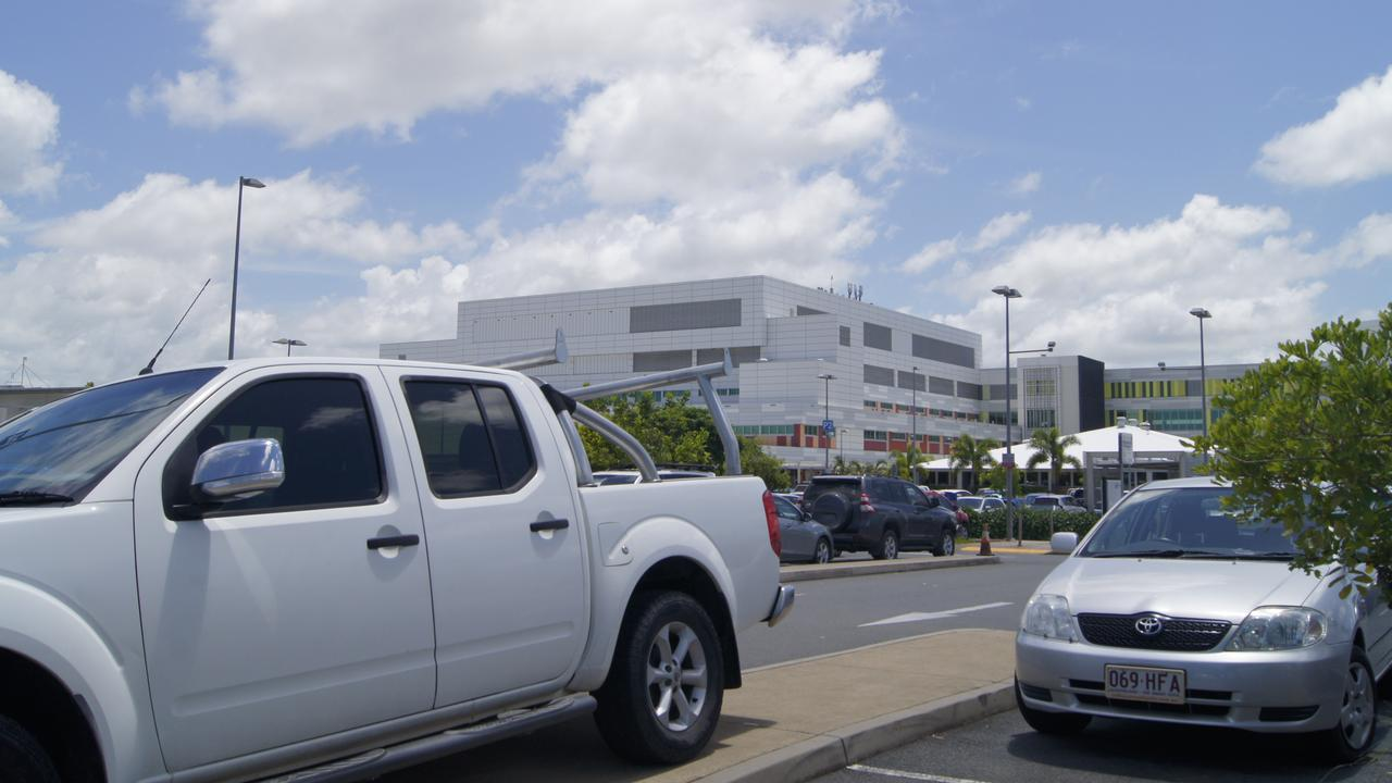 OVERCROWDED: Patients are frustrated by the lack of available parking at Mackay Base Hospital. Picture: Heidi Petith