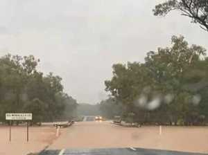 Major flood alert as deluge expected to cut highway