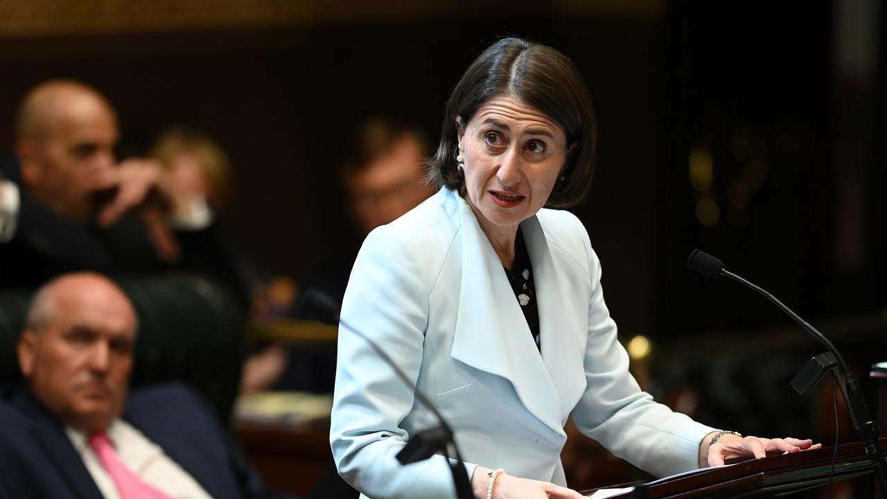 NSW Premier Gladys Berejiklian wants the state to improve the way it trains workers in industry and technology. Picture: AAP Image/Joel Carrett