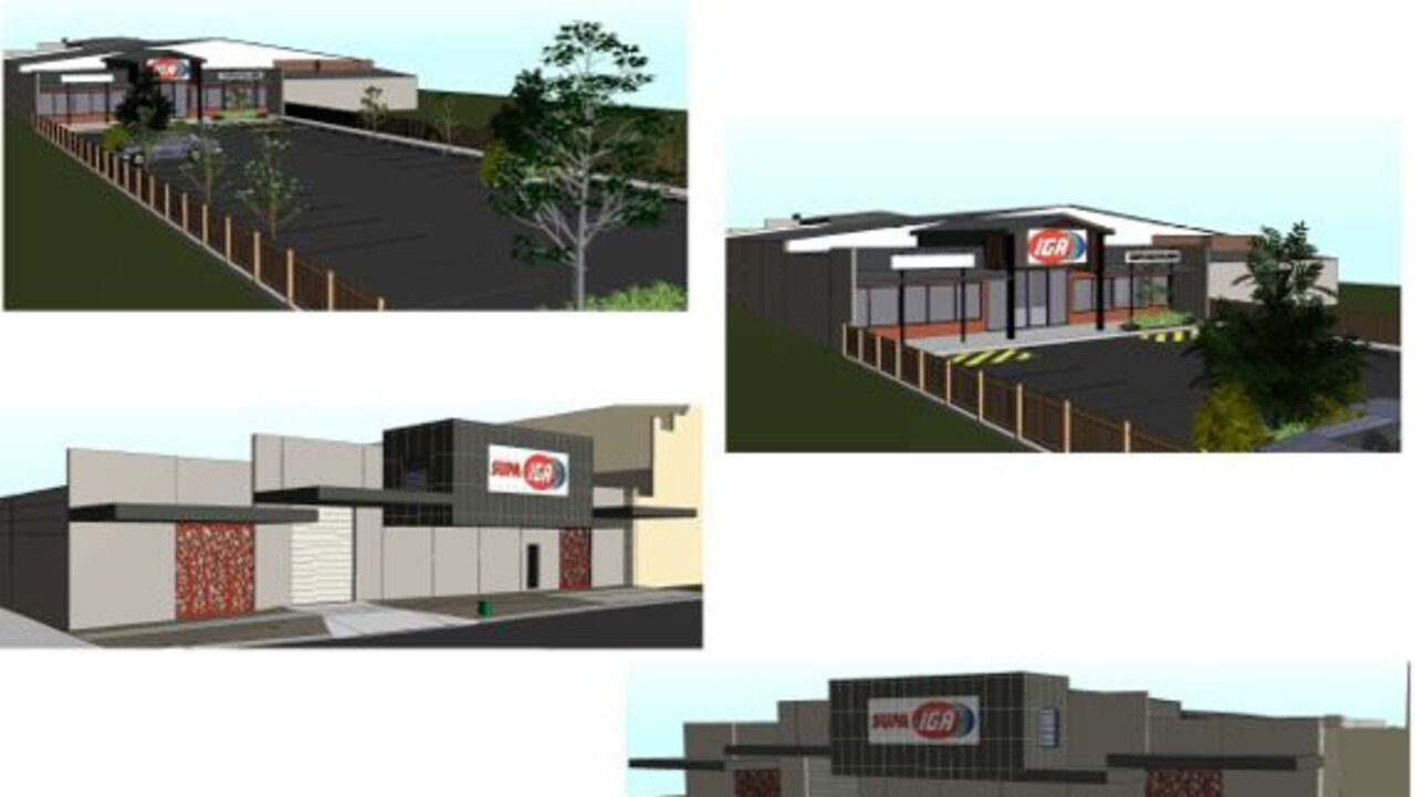 CONCEPT DESIGN: This is what the new Supa IGA coming to Roma in August will look like.