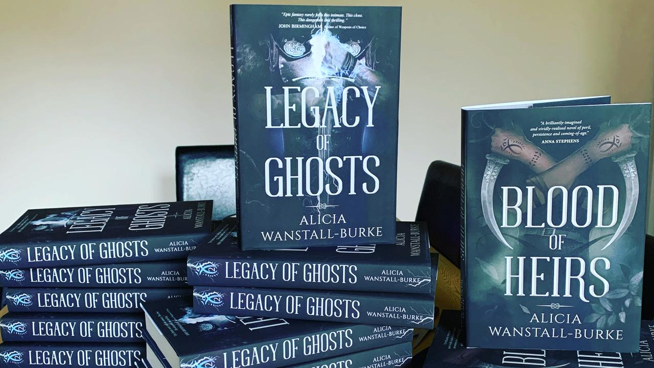 Alicia Wanstall-Burke released her second novel last year.