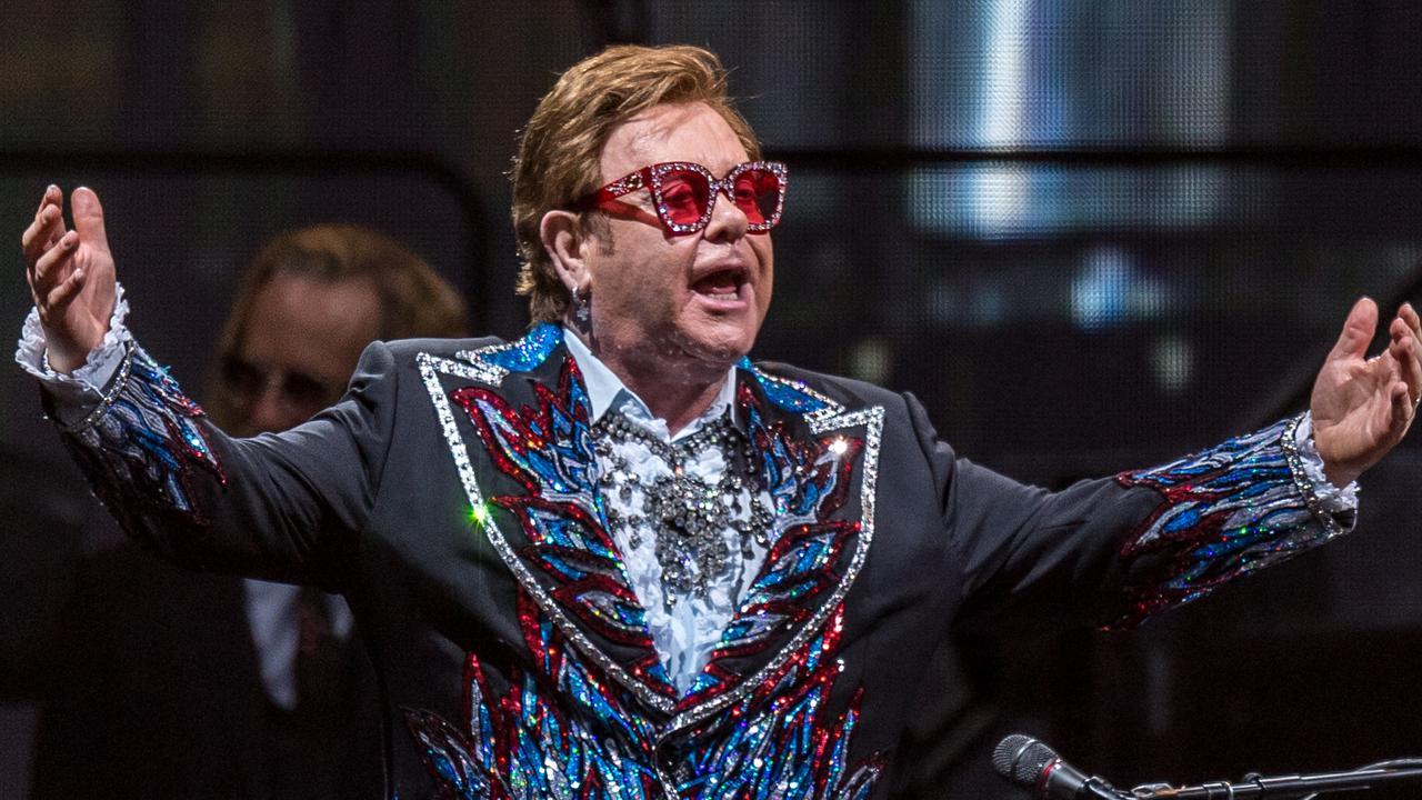Elton John AAMI Park Concert