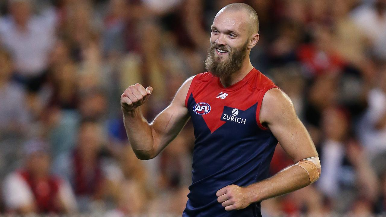 Max Gawn is Melbourne's new captain. Picture: Michael Klein