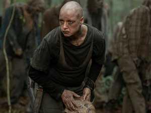 The Walking Dead return looks explosive