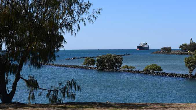 Vessel weighing 39,000 tonnes berths at Port of Bundaberg