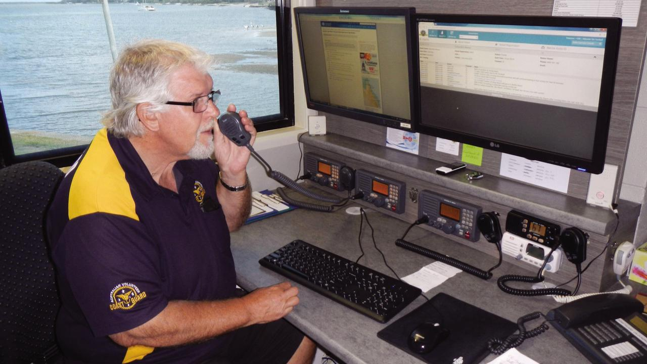 MORE VOLUNTEERS: Due to the number of volunteers who signed up to become base station radio operators, Coast Guard Caloundra is now able to offer boaties extended radio coverage.