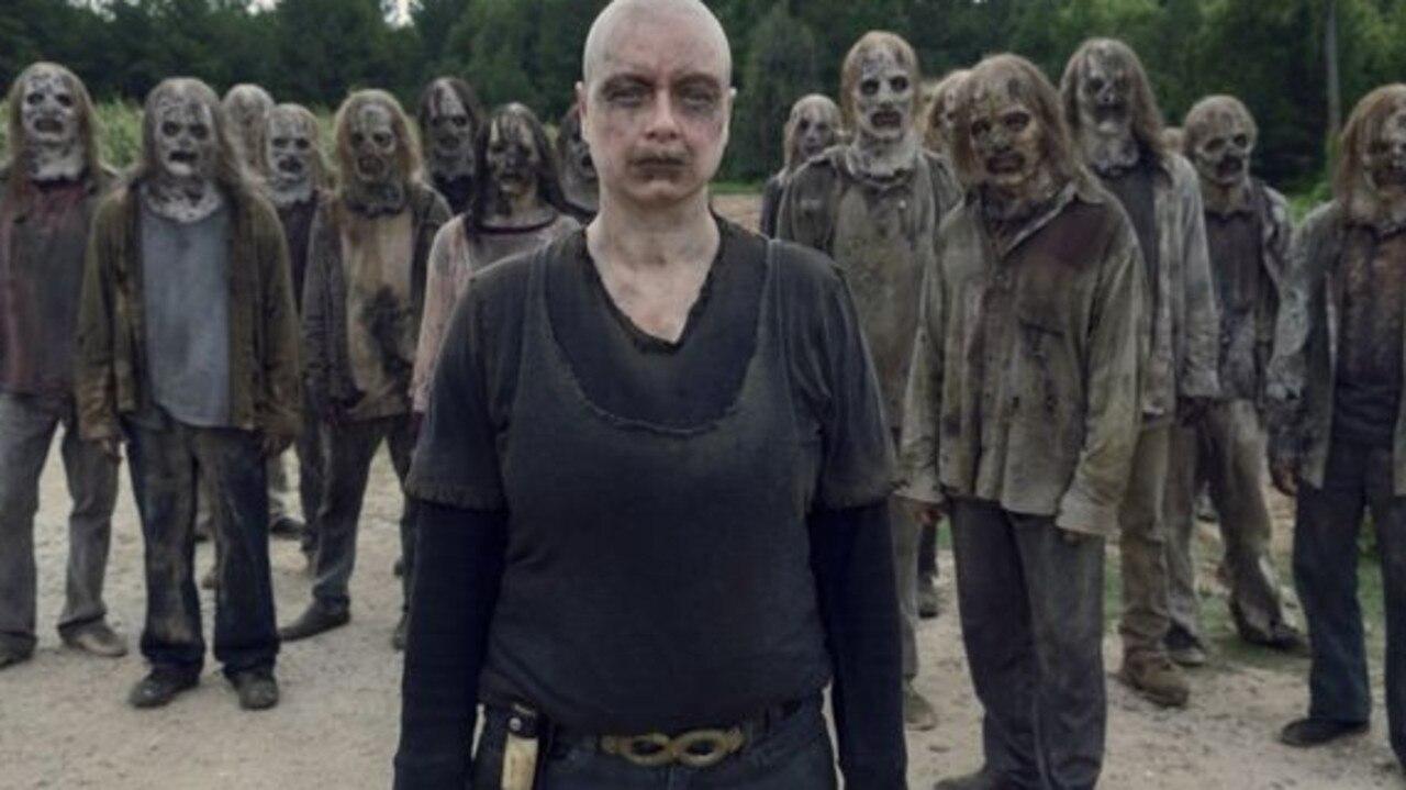 Alpha (Samantha Morton) in The Walking Dead.