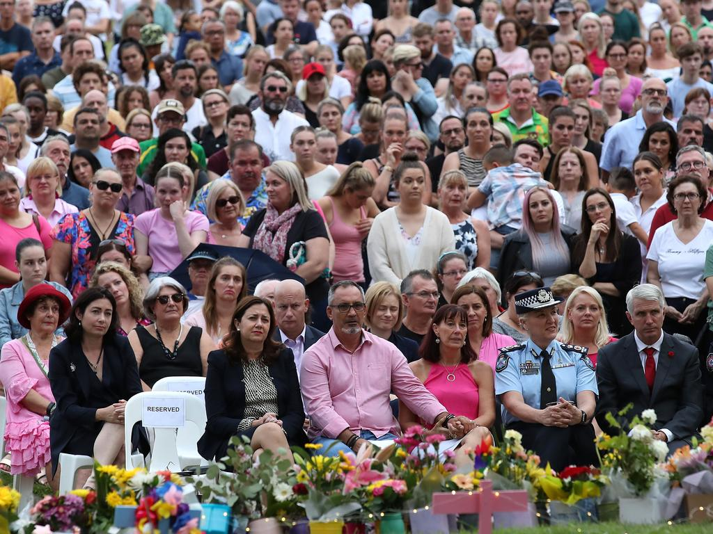 More than a thousand people attended a vigil, as demands for action grow louder. Picture: Getty Images
