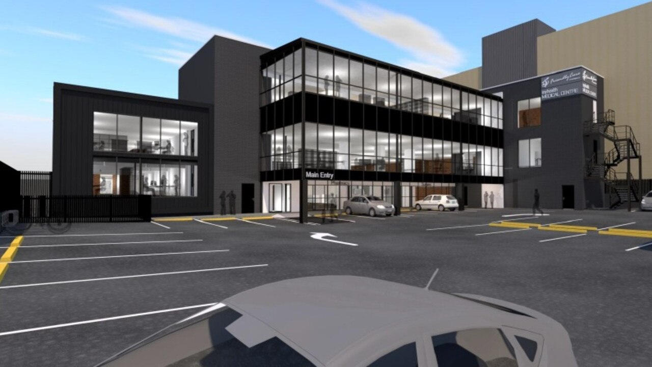 An artist's impression of how the newly refurbished building on East and Bell Streets will look from East Street.