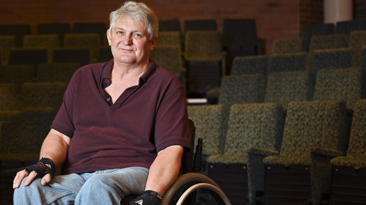 Spinal Life member Larry Stumer. Picture: Cordell Richardson