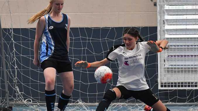 Futsal face off