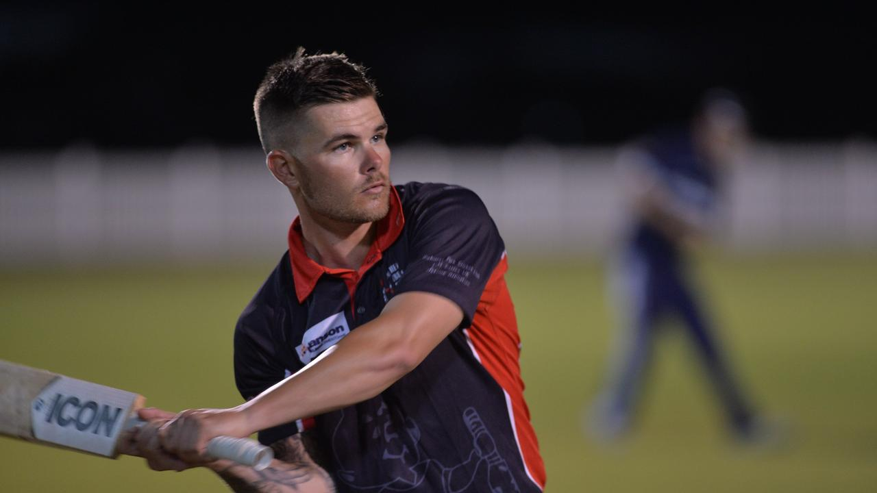 Mitch English from Norths Cricket Club. Picture: Aidan Cureton.