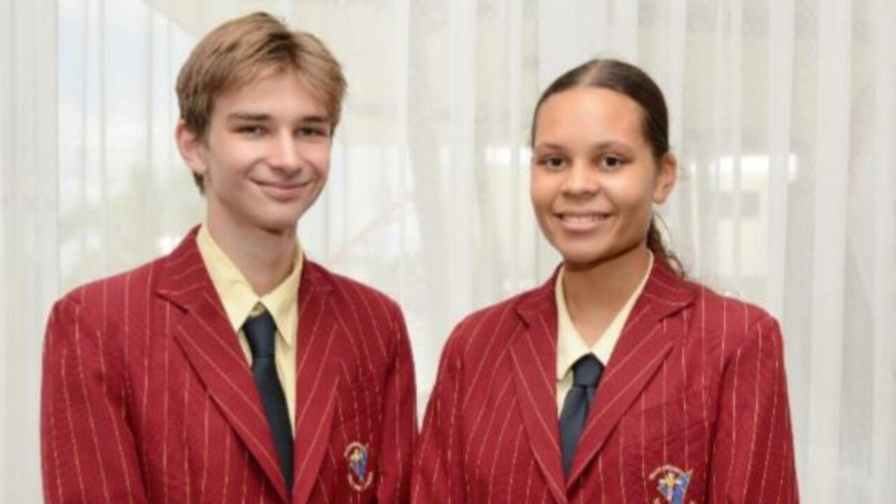 STUDENT VOICE: Holy Spirit College 2020 Year 11 Student Representative Council members Joshua Penner and Helen Hovinga.