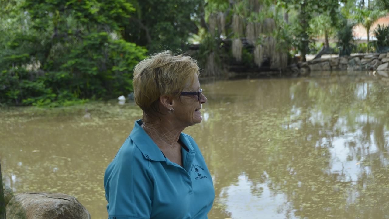 Benaraby Junction Owner Judy Turner hasn't seen her dam this full since 2017.