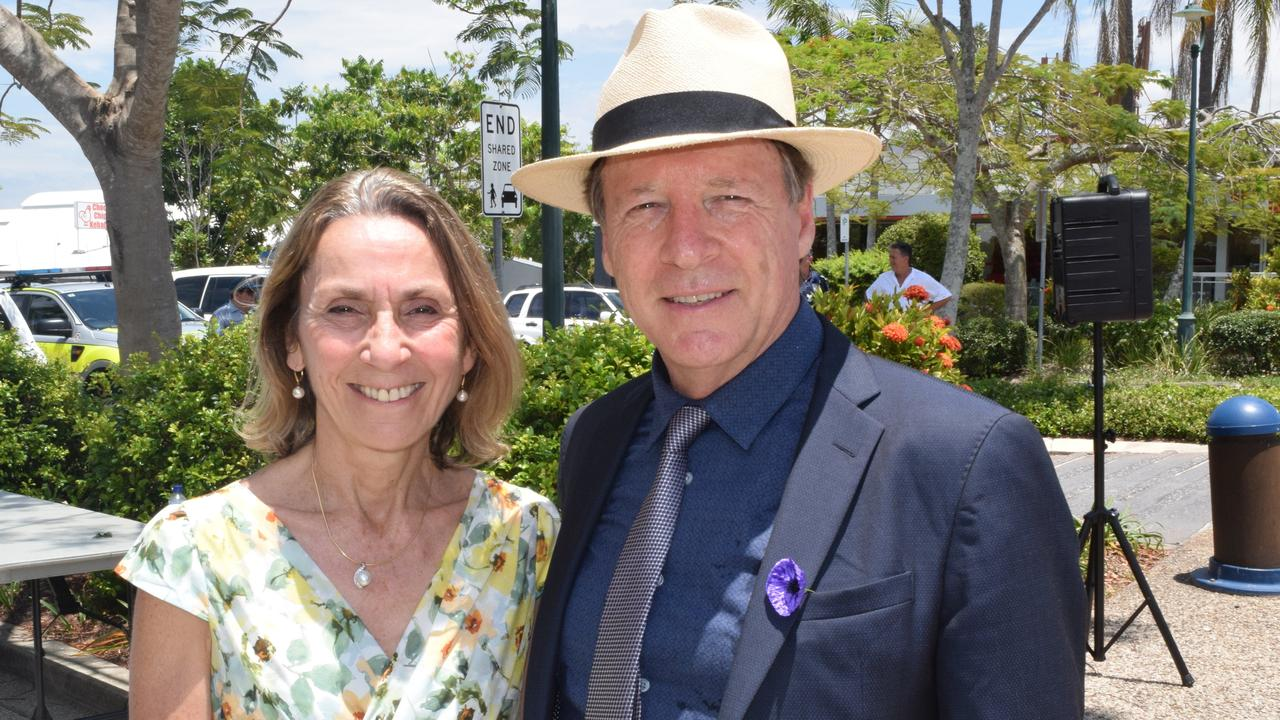 Councillor Ingrid Jackson and Mayor Tony Wellington have differing views on the Noosa Plan's status.