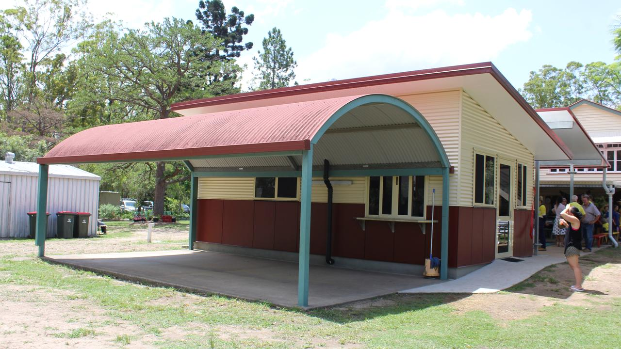 BRAND NEW BUILDING: An outside view of the new tuck shop at Benarkin State School. Photo: Laura Blackmore