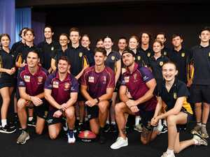 AFL: Brisbane Lions players, Eric Hipwood, Dayne