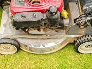 Rain bogs down grass  cutting efforts