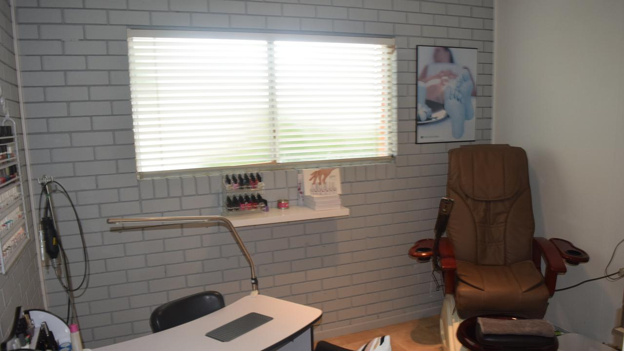 Dambri Beauty nail room.