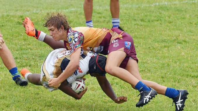 PHOTOS: Juniors fierce on field at league comp