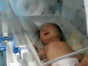 Baby's miracle coronavirus recovery