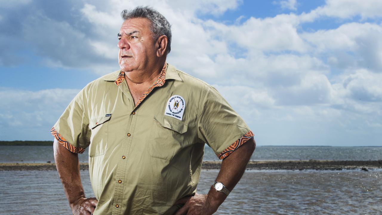 Butchulla Mens Business Aboriginal Association President Glen Miller.