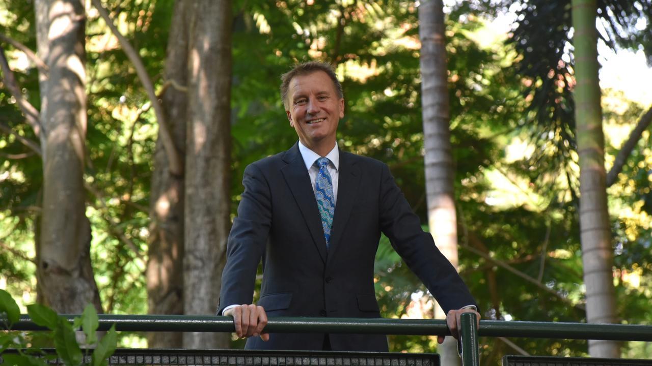 Professor Nick Klomp, Vice-Chancellor, Central Queensland University. Supplied