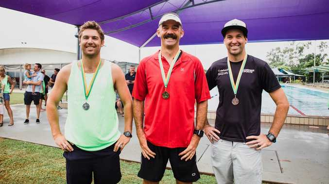 Large field of competitors took to Moranbah Triathlon