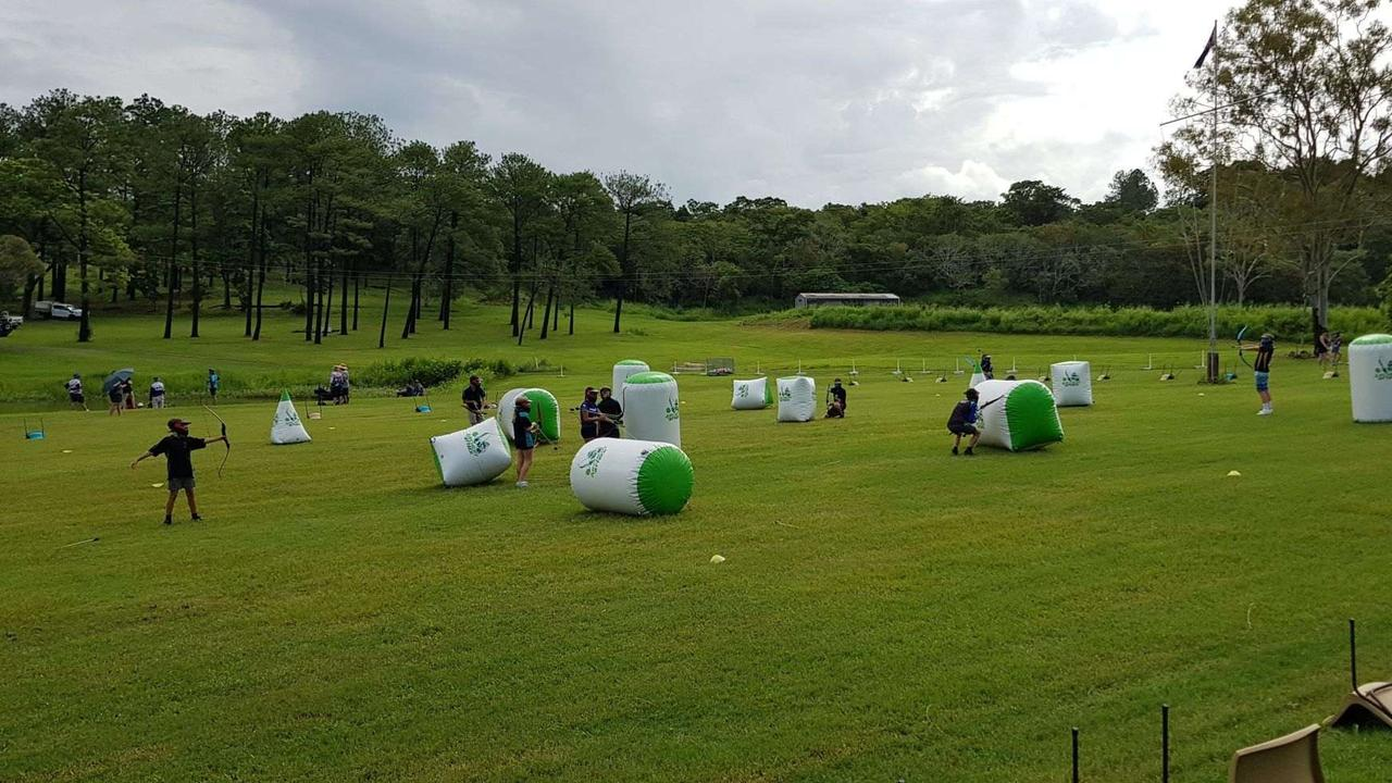 FUN: Activities at the Scouts Founders Day in Mackay. Picture: Supplied