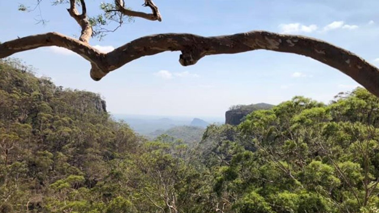 Fred's Gorge in the Minerva Hills National Park near Springsure.