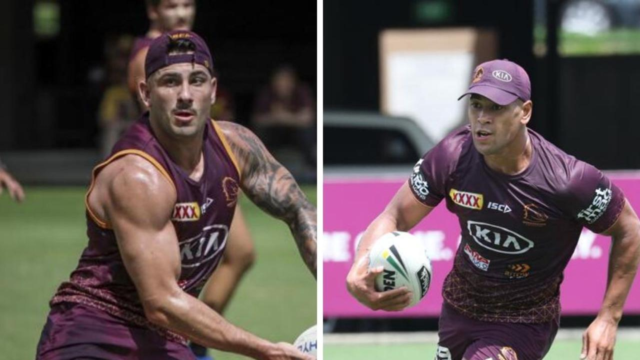 Jack Bird looks to have won the Broncos fullback jersey over Jamayne Isaako.