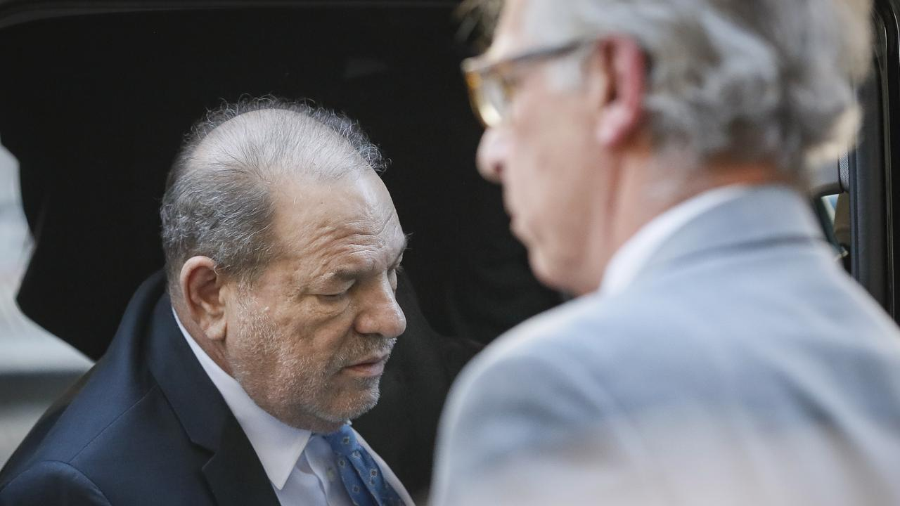 Harvey Weinstein arrives at a Manhattan courthouse. Picture: AP Photo/John Minchillo