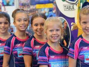 Mackay's young table tennis stars led by former champion